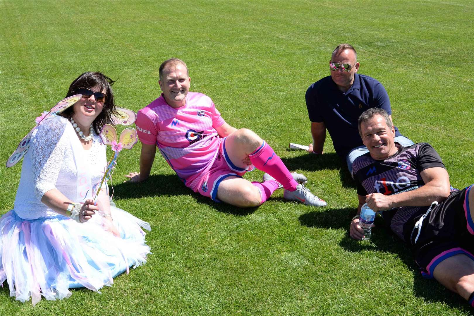 Stamford's Zeeco stadium hosted this year's 'Football versus Cancer' match
