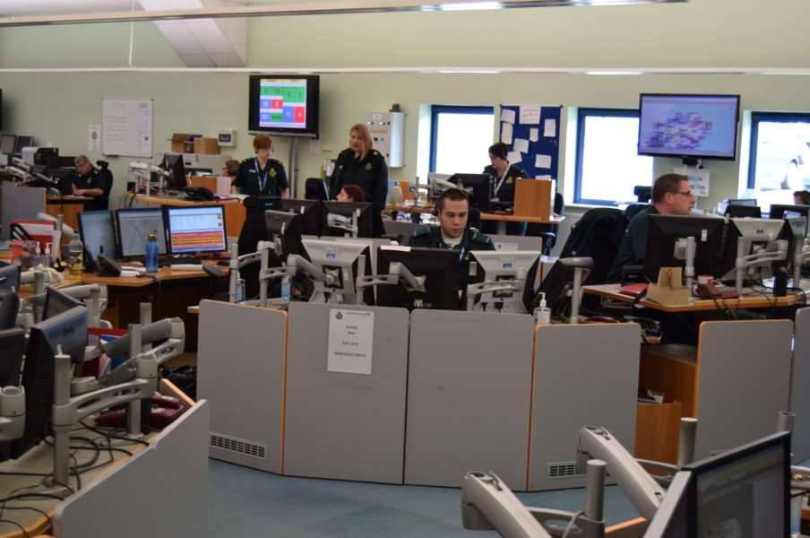 An East of England Ambulance Service call centre