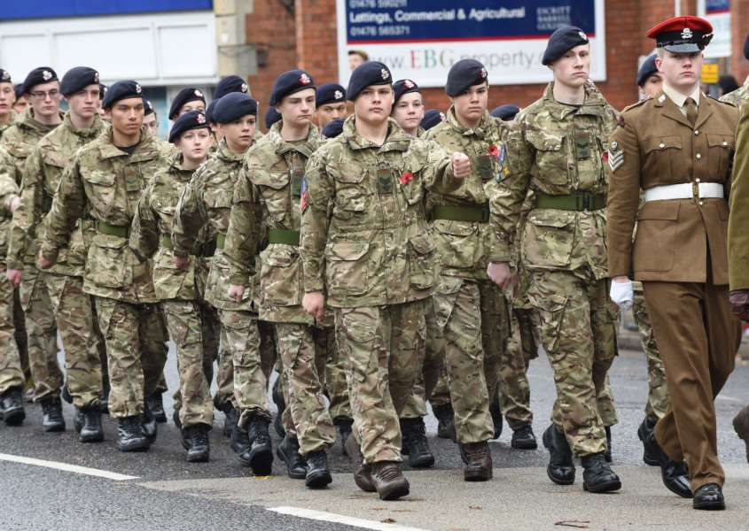 Remembrance Day Parade through Grantham on Sunday, November 8, 2015. EMN-151116-142302001