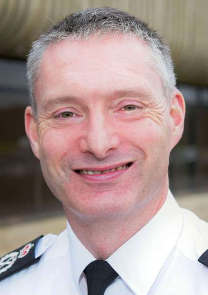 Lincolnshire Police Chief Constable Bill Skelly. Photo supplied.