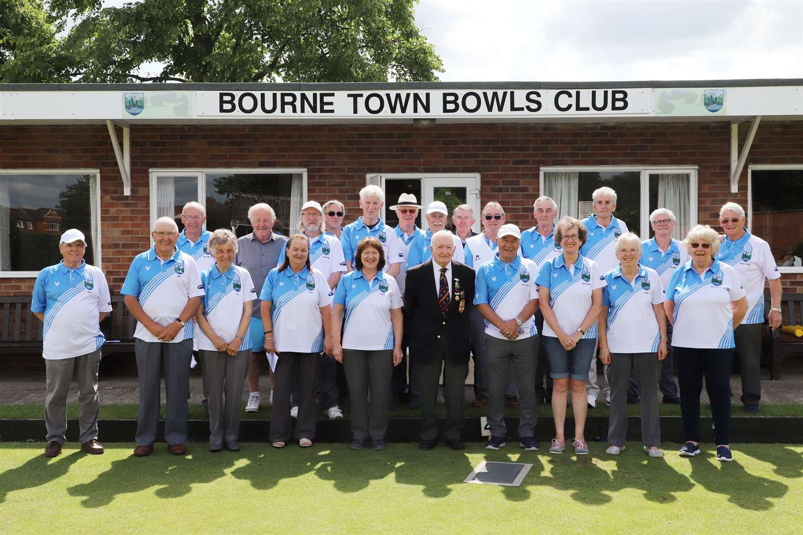 Bourne Town Bowls Club's open day. (12506720)