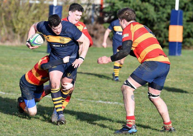 Bourne ran out 43-15 winners against Stockwood Park on Saturday. Photo: Alan Hancock (7085633)