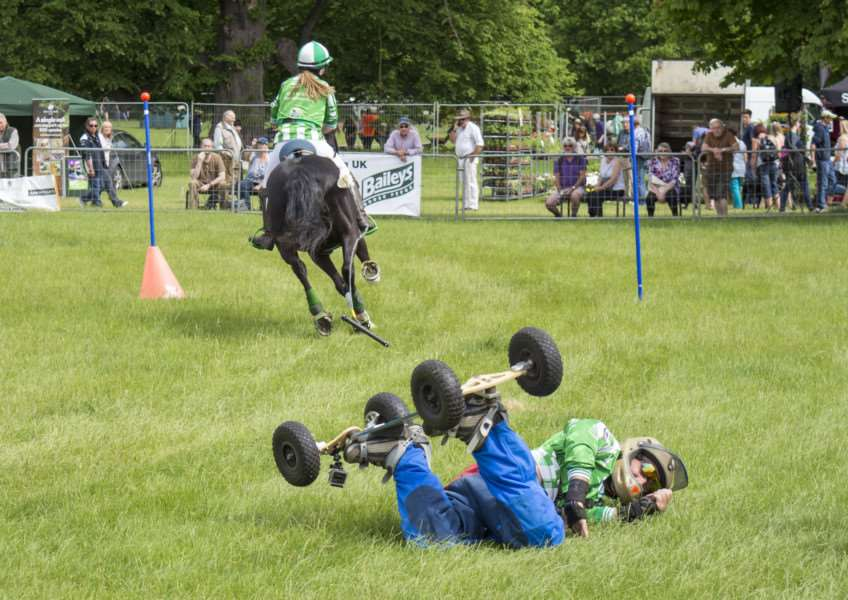 Burghley Game and Country Fair. By Lee Hellwing.