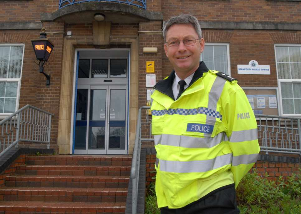 Stamford, Bourne and the Deepings sector inspector Mike Burnett