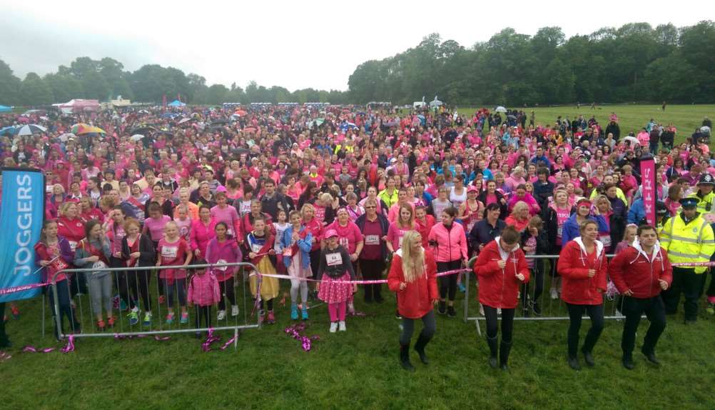 The 2015 Race for Life at Burghley House