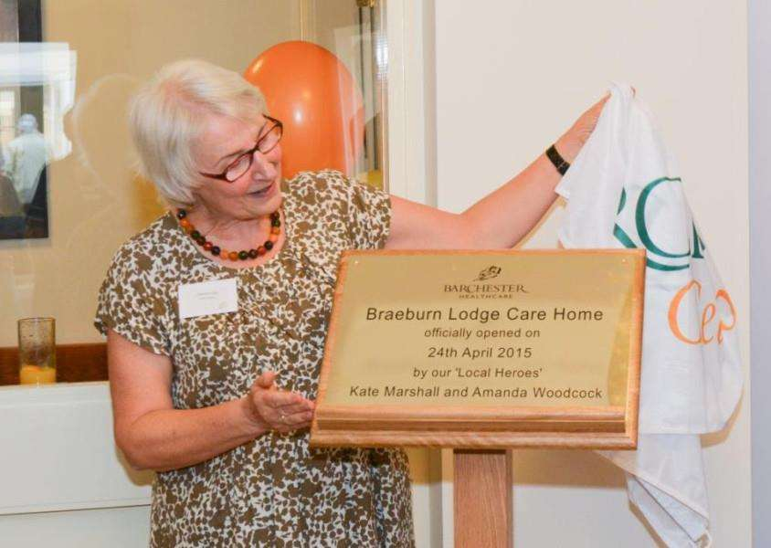 The opening of Braeburn Lodge Care Home EMN-150513-095617001