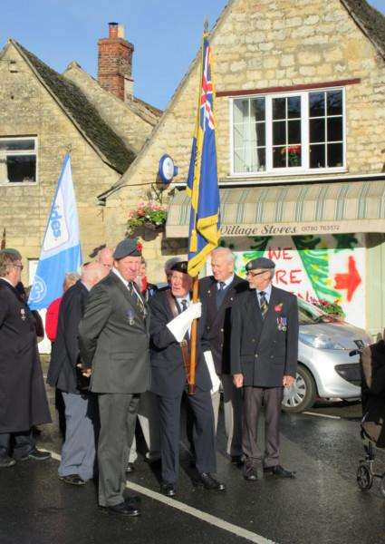 final parade of the Ryhall and District Branch of The Royal British Legion