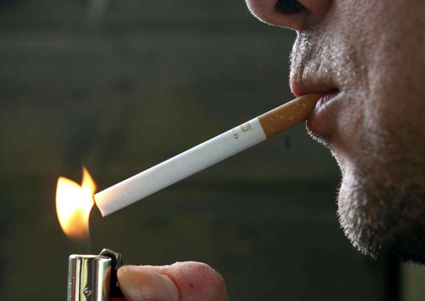 Smoker law changes. Photo:Owen Humphreys/PA Wire