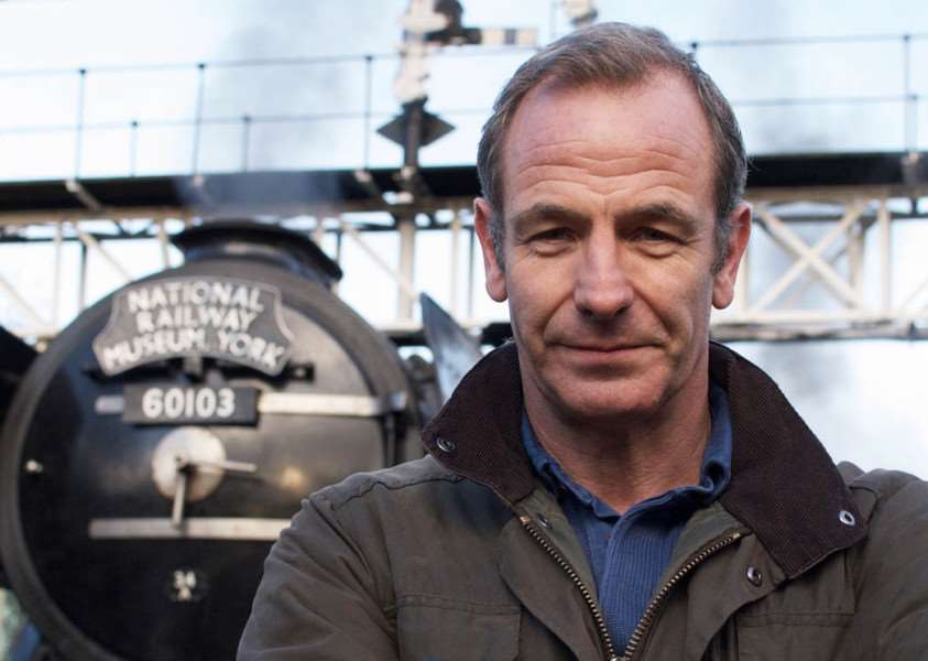 The Flying Scotsman with Robson Green