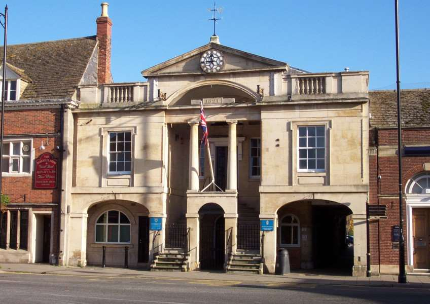 Bourne Town Hall. Photo by Rex Needle ENGEMN00120131220142810