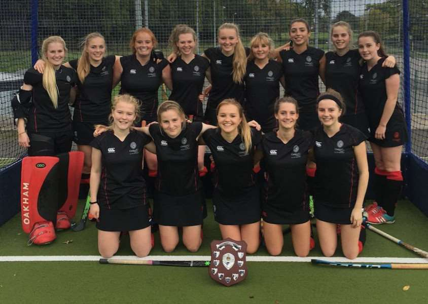 Oakham's winning County Hockey team