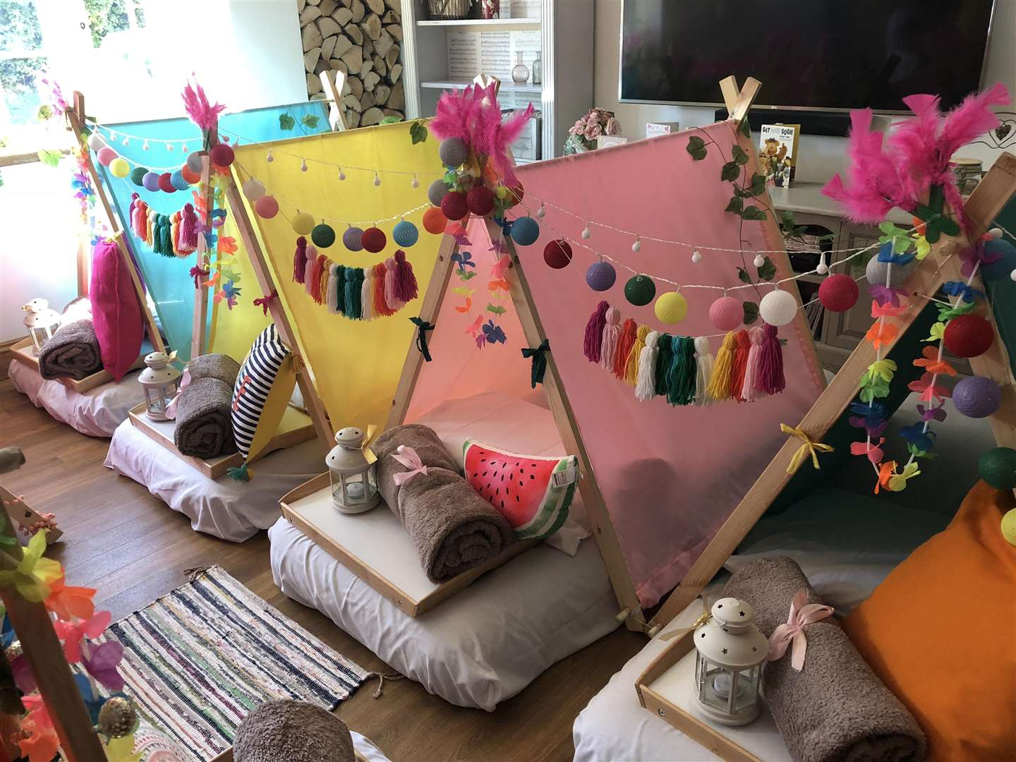Magical Slumber Parties cater for children from six years old up to adults