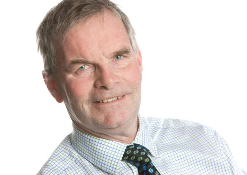 Martin Hill, leader of Lincolnshire County Council.