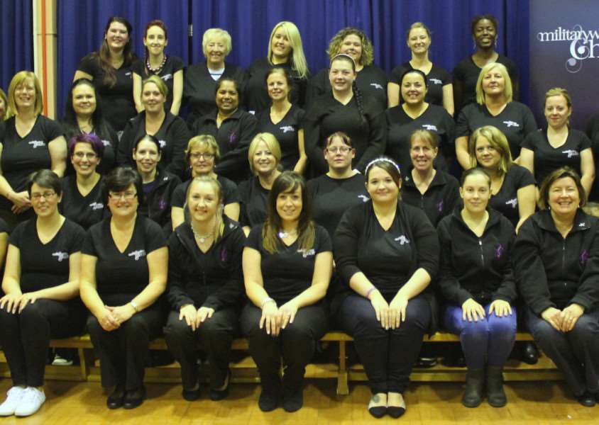 Cottesmore Military Wives Choir EMN-150413-115730001