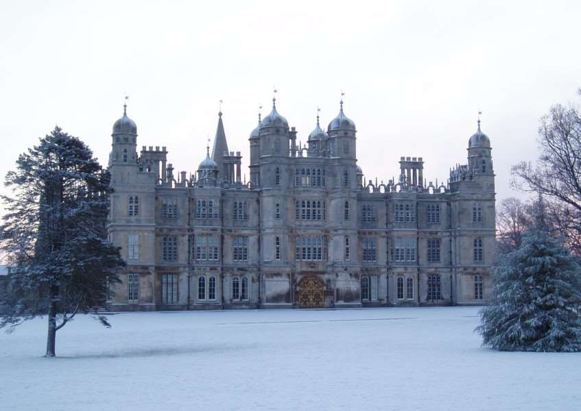 Christmas has arrived at Burghley House EMN-151117-142200001