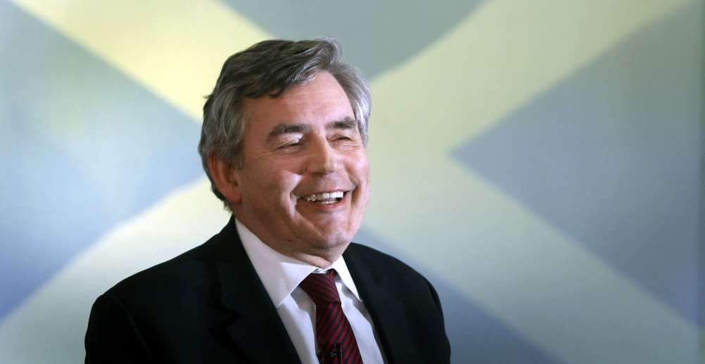Gordon Brown. Photo: PA
