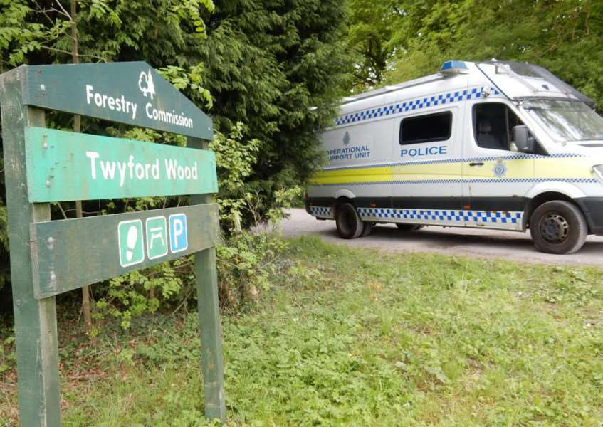 Twyford Wood, near Corby Glen, remains closed as a post-rave clean-up takes place.