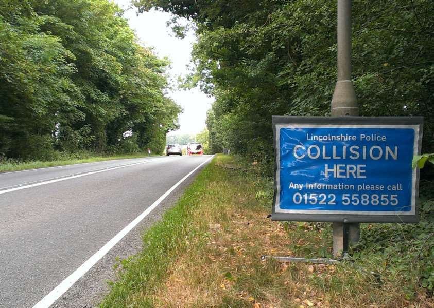 The scene of the fatal collison on Friday afternoon. EMN-150721-100233001
