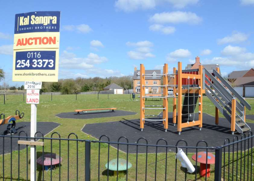 Play area at Belvoir Way, Stamford EMN-160419-163424009