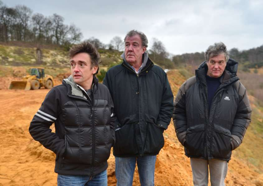 Richard Hammond, Jeremy Clarkson, James May - (C) BBC Worldwide Ltd - Photographer: Ellis O'Brien EMN-150629-120712001