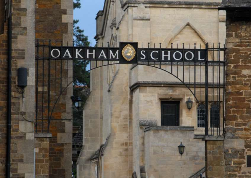 Photo: MSMP210812-055ow'Oakham School, Chapel Close entrance, Market Place, Oakham. File picture. ENGEMN00120120822155320