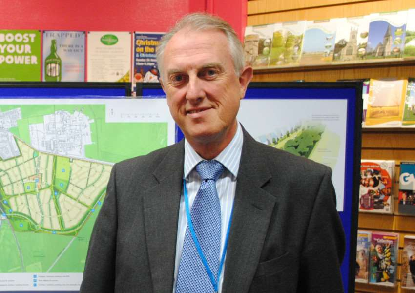 Cllr Nick Craft, portfolio holder for healthy environment at South Kesteven District Council.