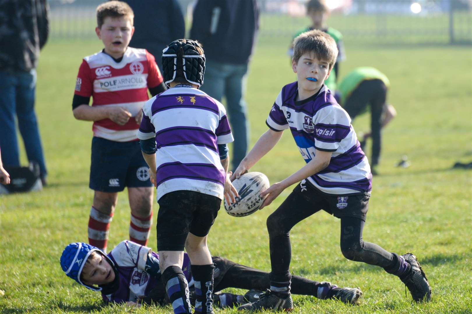 Young players from Stamford Rugby Club will be action at their festival this weekend. (7784308)