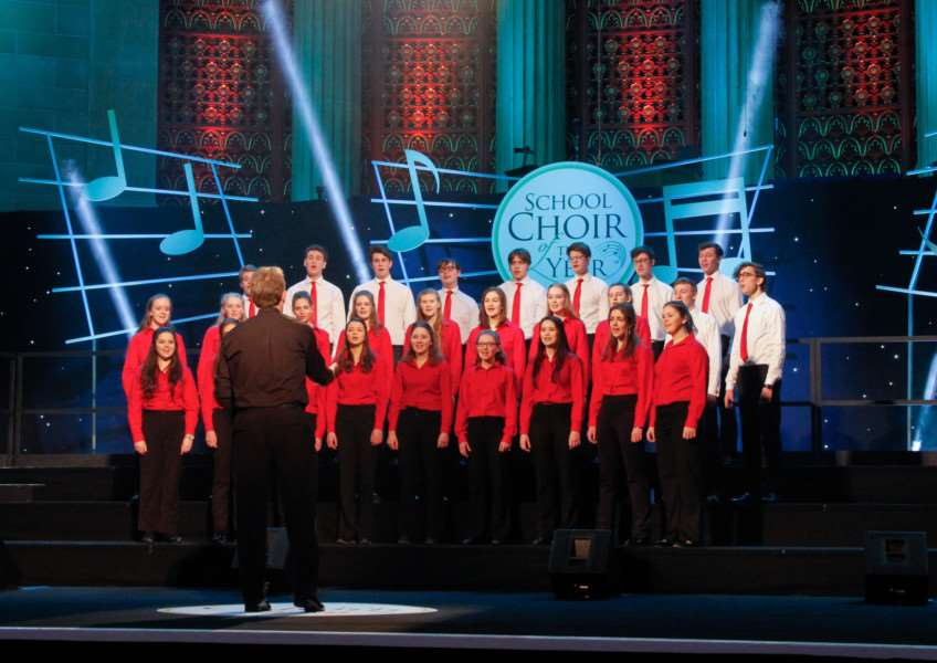 Oakham School's Chamber Choir is absolutely delighted to have reached the final of the BBC Songs of Praise School Choir of the Year competition after last night's enthralling semi-final broadcast to millions of viewers on BBC One. EMN-161104-142213001