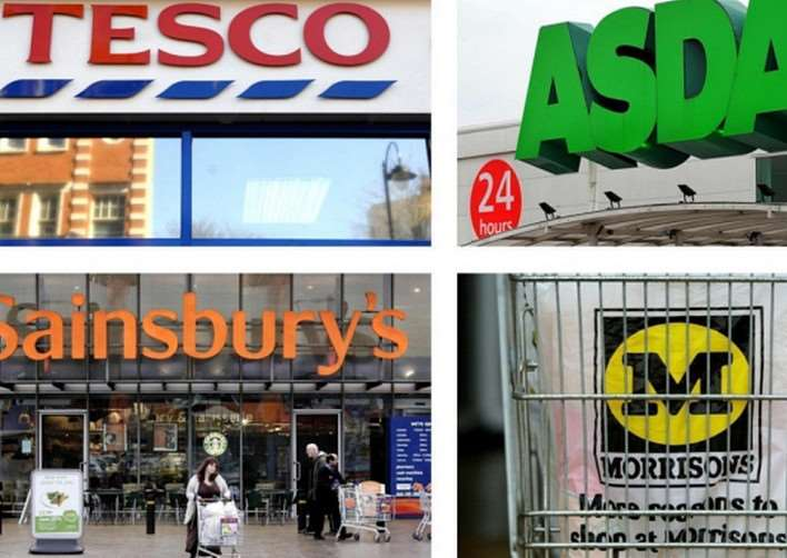 Leading supermarkets are continuing to battle for their share of the market.