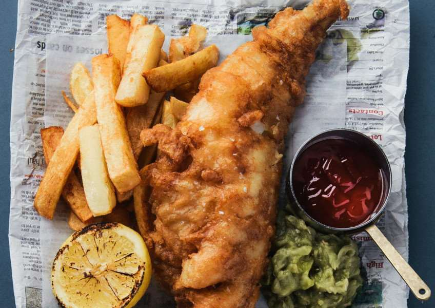 The Lincolnshire Chef shares his Good Friday gluten free fish and chips recipe.