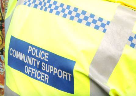 A police community support officer. EMN-141127-105210001
