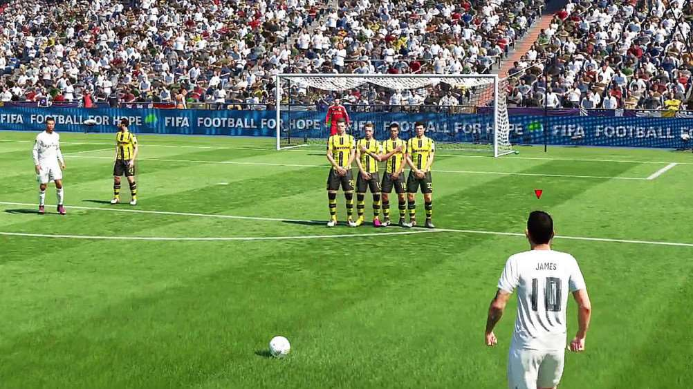 FIFA 17 has come from behind to secure a high-scoring draw with PES2017
