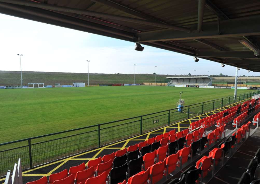 The Zeeco Stadium, home of Stamford AFC
