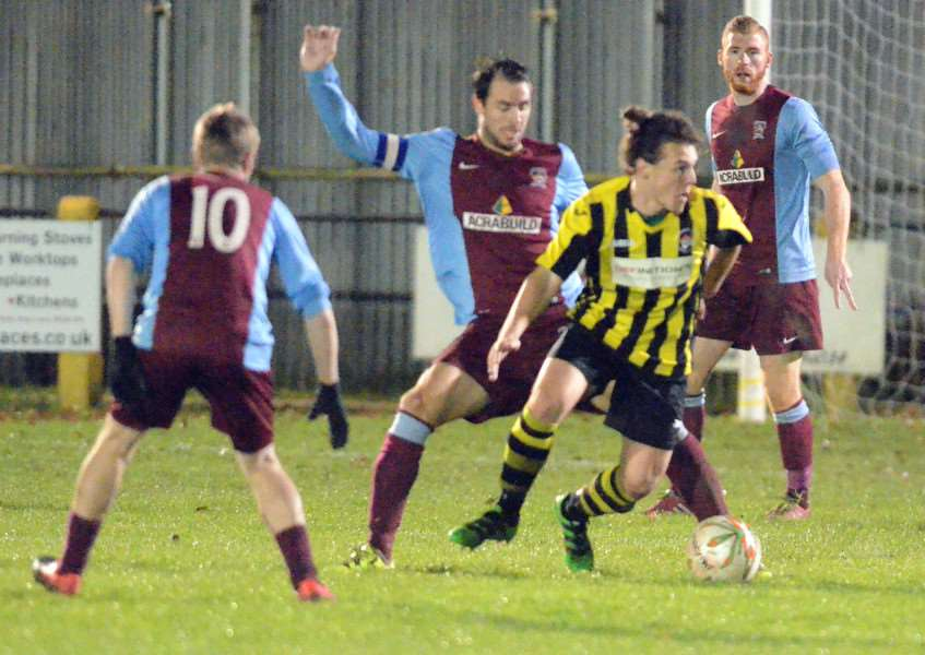 Holbeach United v Deeping Rangers at Carter's Park'Longer range pics first half, ANL-160311-093204009