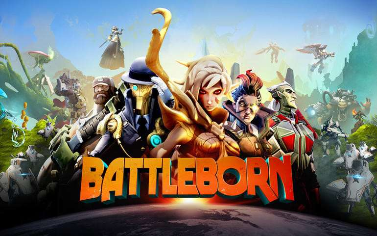 Battleborn is a colourful 'hero shooter' out on May 3