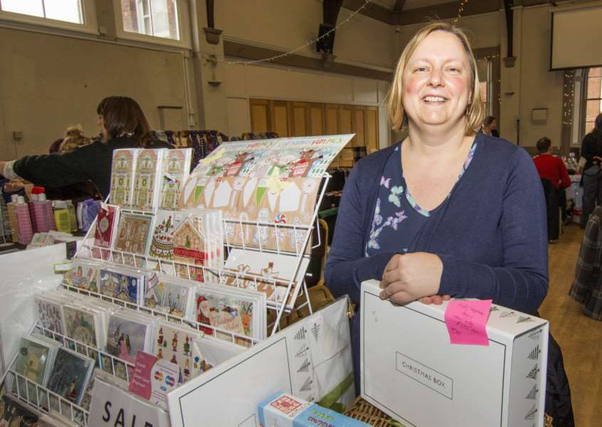 Victoria Hall Craft and Gift Fair. By Lee Hellwing.