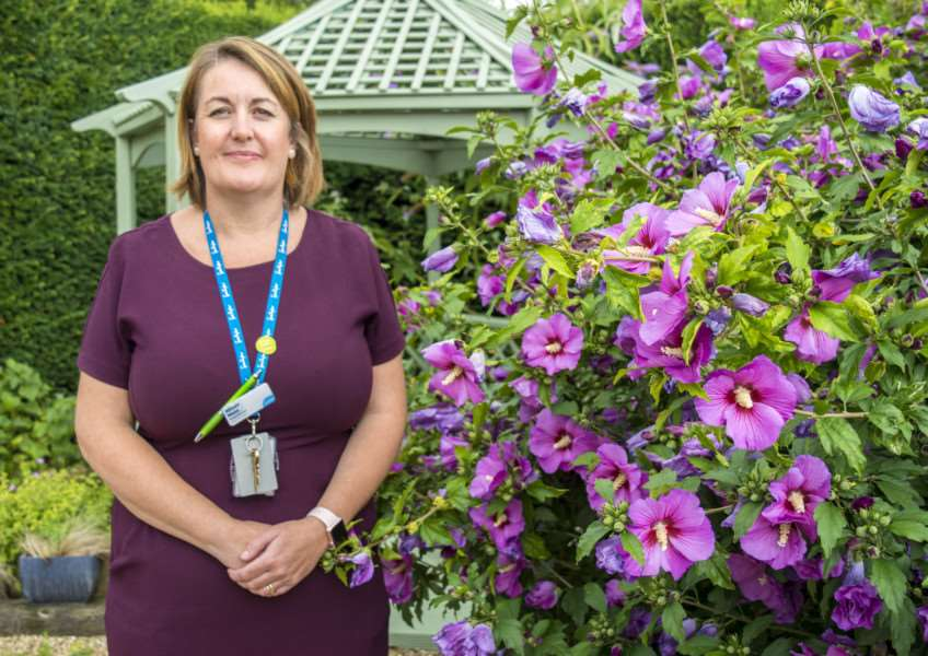 Allison Mann is the new hospice director at Thorpe Hall'Photo: Lee Hellwing