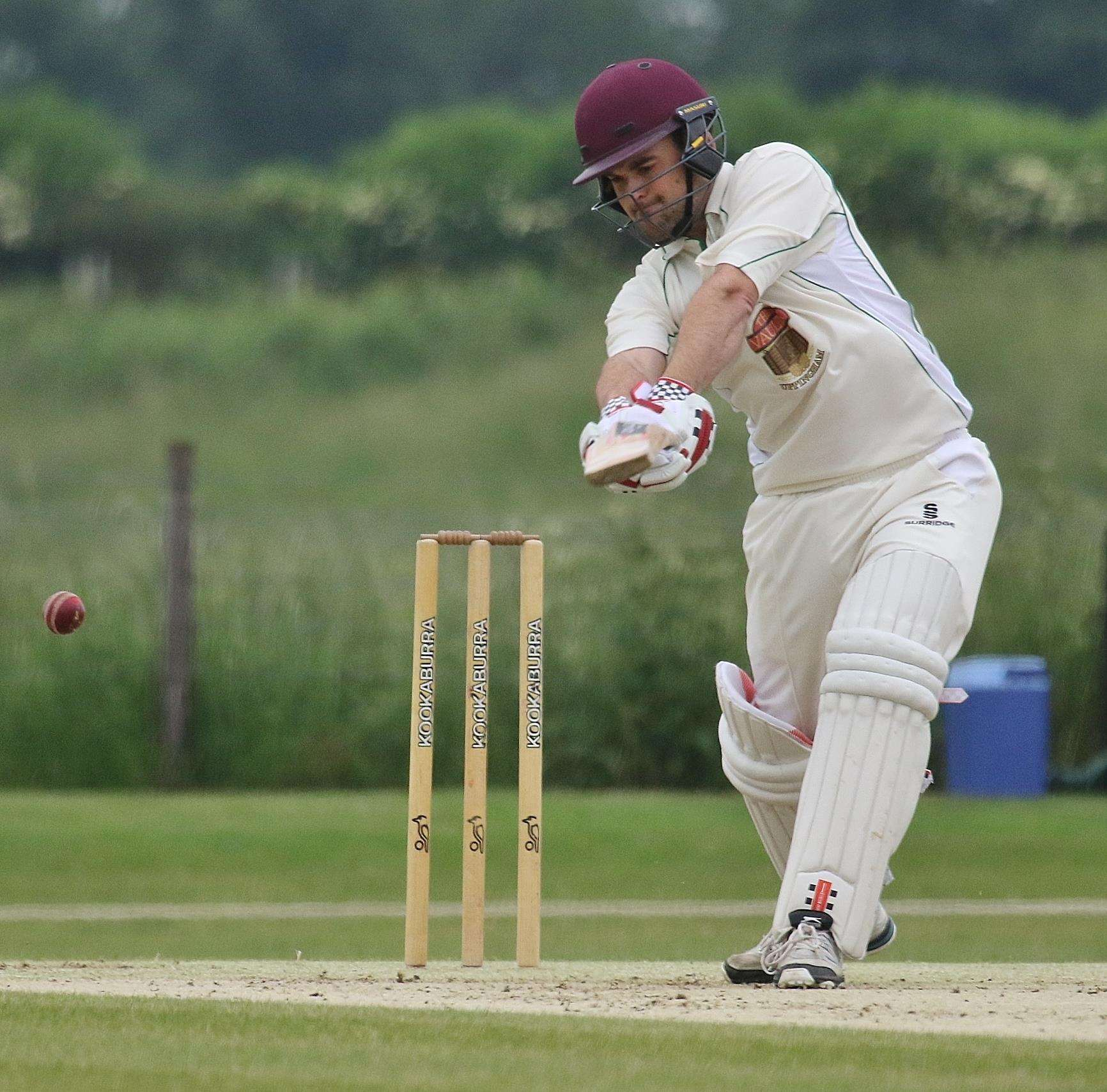 Alex Ashwin hit 22 for Uppingham on Monday night. (2714495)