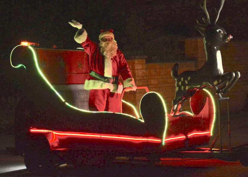 Roadphone NRB will use its technology to track Santa's sleigh as it heads through Bourne EMN-161129-164444001