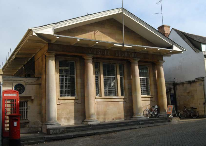 Stamford Library, High Street, Stamford. File picture'Photo: MSMP200812-028js