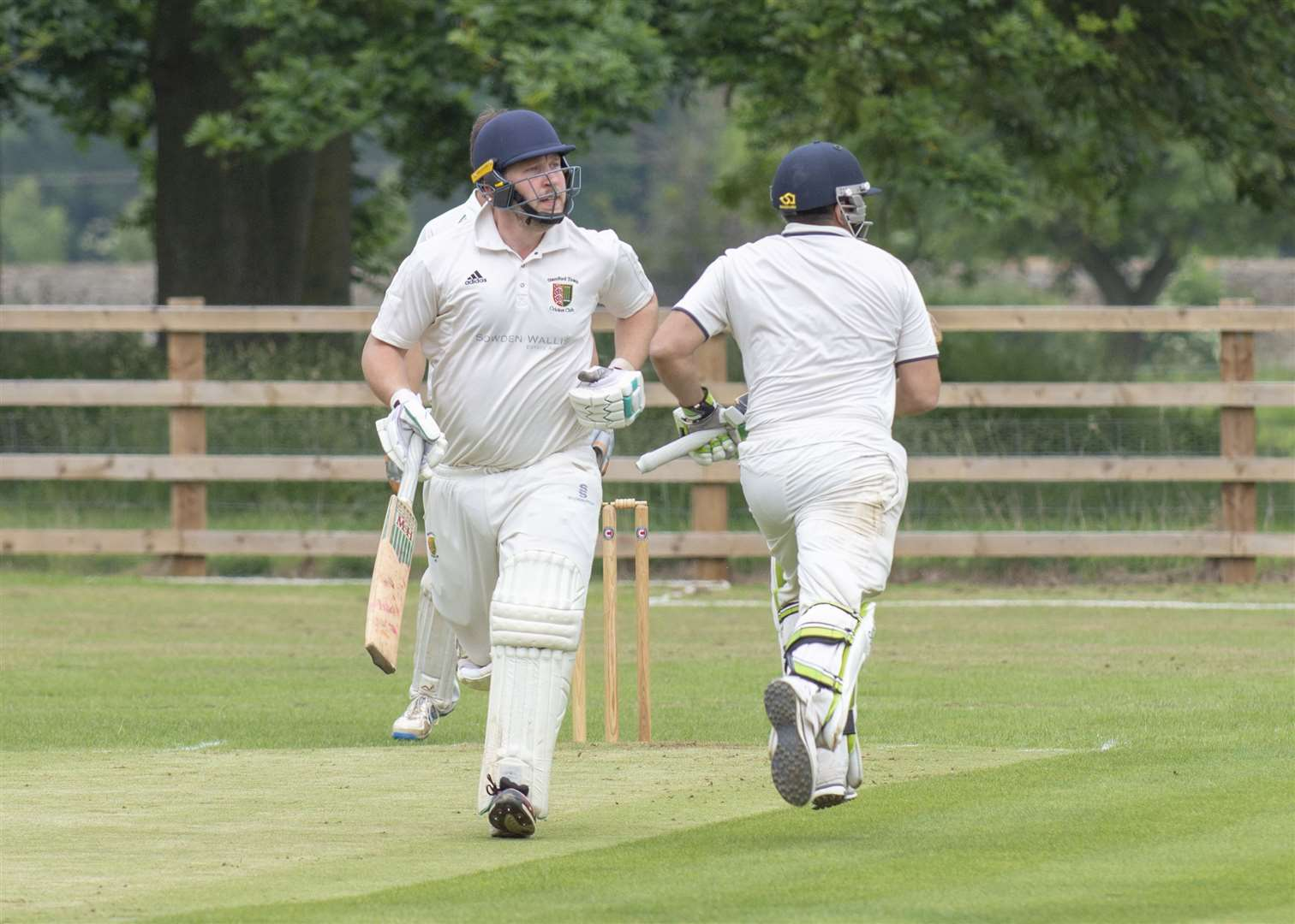 Andrew Hulme hit 74 for Stamford on Saturday. (11643355)