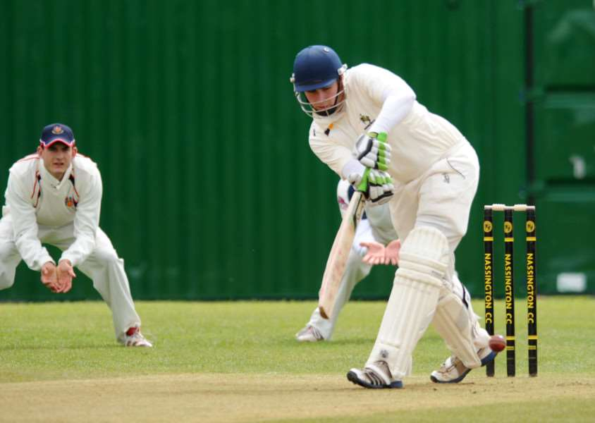 Dan Robinson was unbeaten on 27 when Nassington completed a nine-wicket win at Burghley Park.