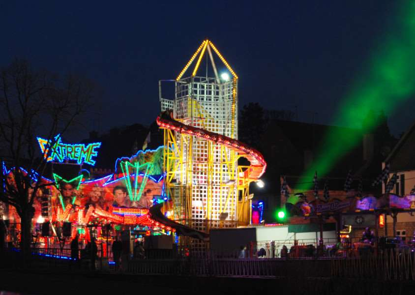 The Mid-Lent Fair in Stamford. Photo: Berry Parker of Cliff Road, Stamford