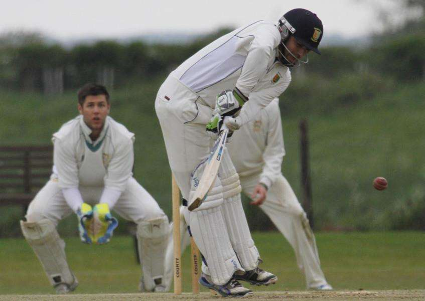 Action from Uppinham Town v Stamford Town in the Rutland League Division One. Photo: Geott Atton EMN-150526-123541001