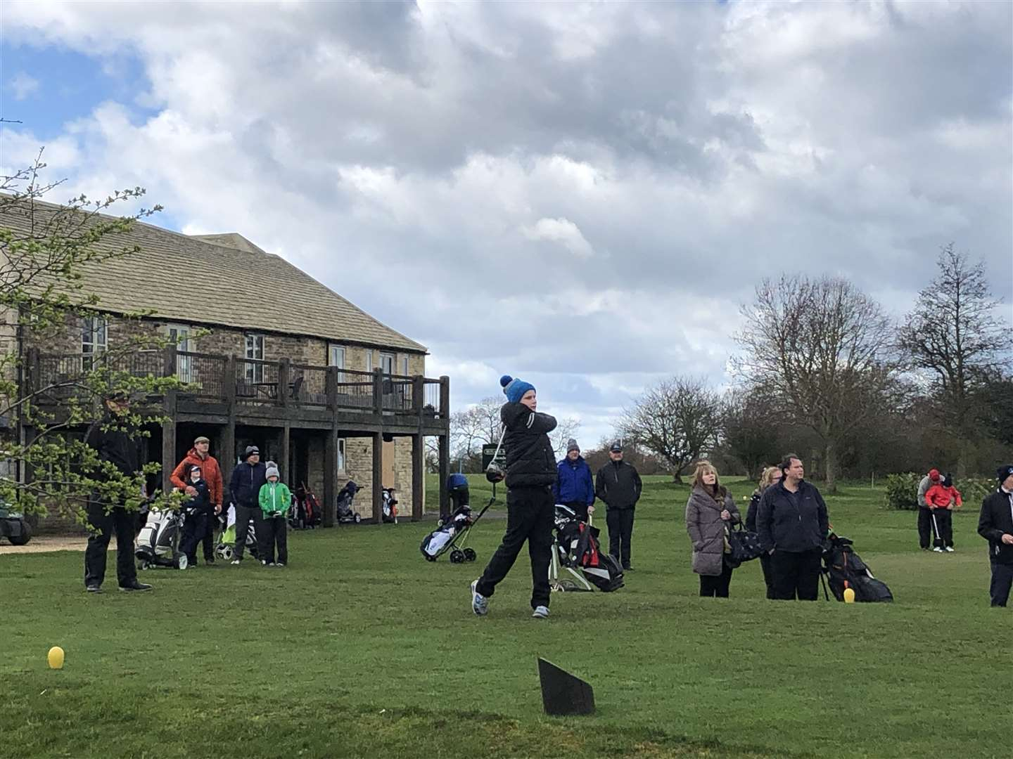 More than 100 juniors flocked to Rutland Water Golf Club on Sunday for the third leg of the Robert Rock Junior Tour. (7865320)