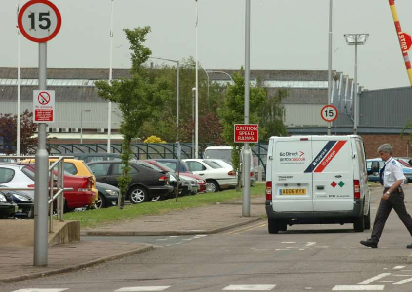 The Indesit factory in Peterborough.