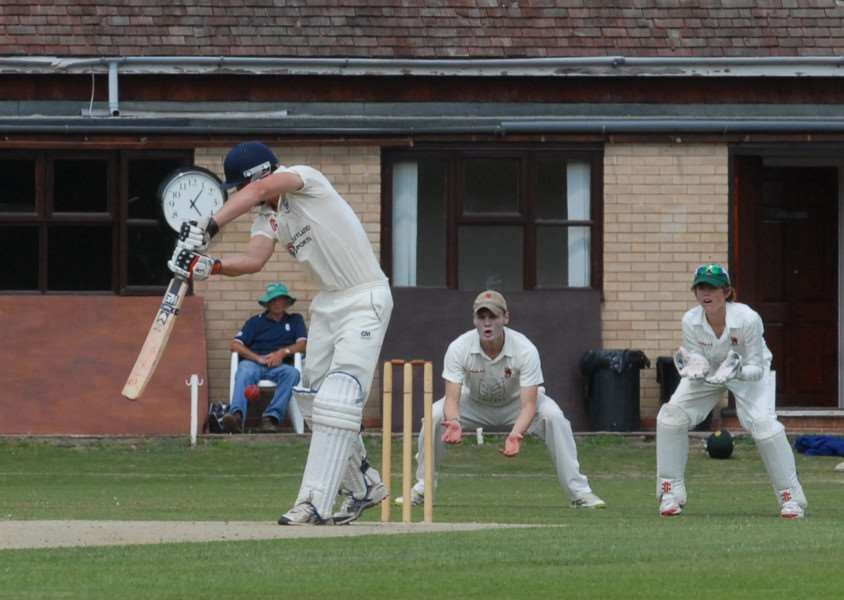 Rob Bentley struck 73 not out for Bourne against Lincoln.