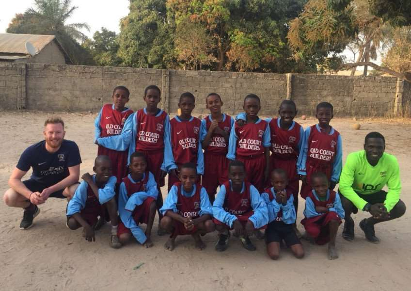 Richard Stainsby in The Gambia