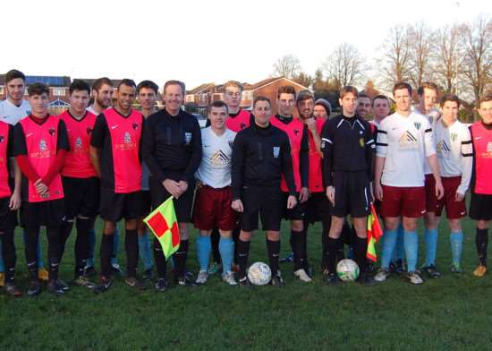 Blackstones and Whitworths mark Football Remembers EMN-141216-131700001