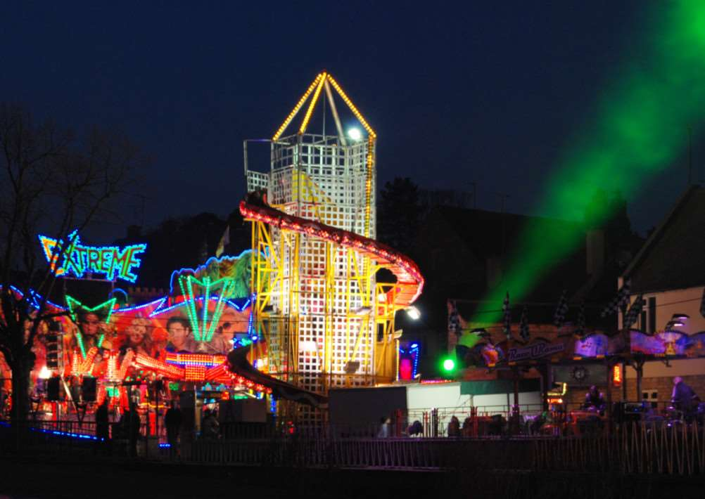 The Mid-Lent Fair in Stamford. Photo: Berry Parker of Cliff Road, Stamford EMN-140321-121548001